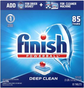 Finish All-in-1 Powerball, Automatic Dishwasher Detergent
