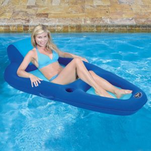 Aqua Fabric Recliner Water Lounge