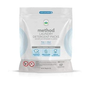 Method Laundry Detergent Packs, 2 Count Free + Clear