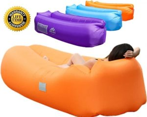 WEKAPO Inflatable Lounger Air Sofa Hammock-Portable,Water Proof& Anti-Air Leaking Design-Ideal Couch for backyard Lakeside Beach Traveling Camping Picnics &...