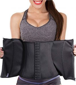Ursexyly Double Control Fat Burning Waist Trainer Body Shaper