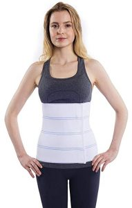 NYOrtho Abdominal Binder Belt - Compression Lower Waist Support Wrap