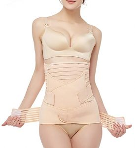 Gepoetry 3 in 1 Postpartum Girdle Support Band Belt Body Shaper