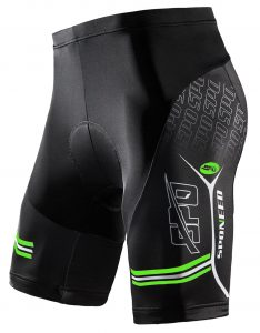 Sponeed Men's Gel Padded Cycling Shorts