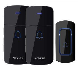 NOVETE- Wireless Waterproof Doorbell Kit