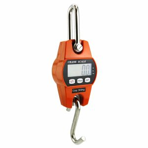 Outmate Mini Digital Crane Scale 300kg/600lbs with LED(Plastic Case)