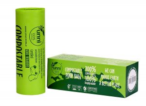 Unni 100% Compostable Biodegradable Poop Bags