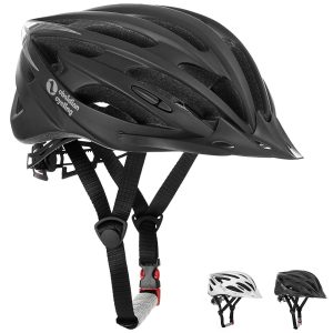 Premium Quality Airflow Bike Helmet with detachable Visor, Padded & Adjustable - CPSC Safety Certified - for Adult Men & Women and Youth / Teenagers - Comfortable , Lightweight , Breathable