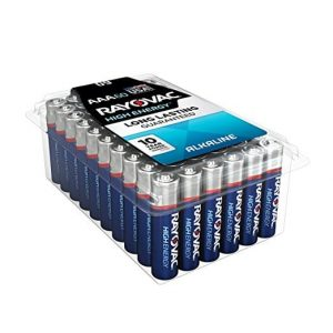 7. RAYOVAC AAA 824-60PPK HIGH ENERGY Batteries