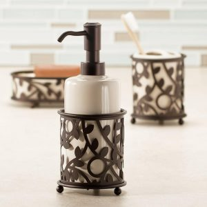 InterDesign Vine Ceramic Dispenser