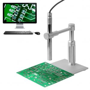 Aomekie Handheld USB Digital Microscope 1-200X Zoom 2MP 1600x1200HD Imaging Endoscope Magnifier with 8 LED Lights Health, Collections, PCB Inspection
