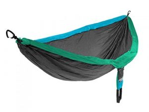 the pole position goes to the eno camping hammock  measuring 9ft 4 inches long and 6 foot 2 inches wide this black double hammock will  fortably support     top 10 best camping hammocks in 2018   hqreview  rh   hqreview