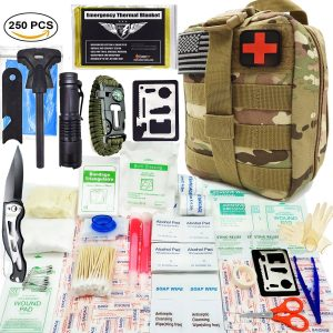 EVERLIT Survival 250 Pieces First Aid Kit