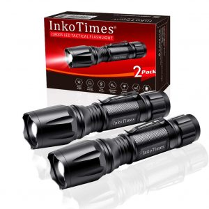 InkoTimes LED i1800S Powerful High Lumen Tactical Flashlight
