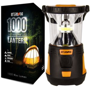 Internova 1000 LED 360 Arc Lighting Camping Lantern