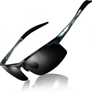 DUCO Mens Sports Polarized UV Protection Sunglasses