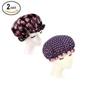 HiCollie Two Pack Shower Bath Cap