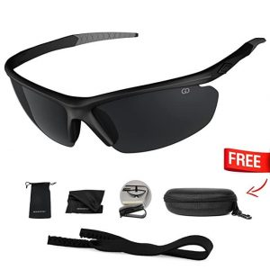 Gear District Polarized UV400 Sport Sunglasses