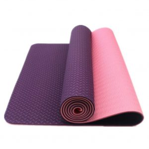 DynActive Yoga Mat by 1:4 Thick Eco-Friendly with carrying Strap