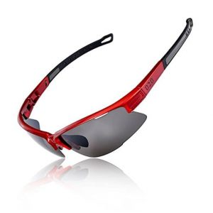 OSLOB Polarized Half-Rimless Sports Sunglasses For Women Men Cycling Running Driving UV Protection Glasses ST001