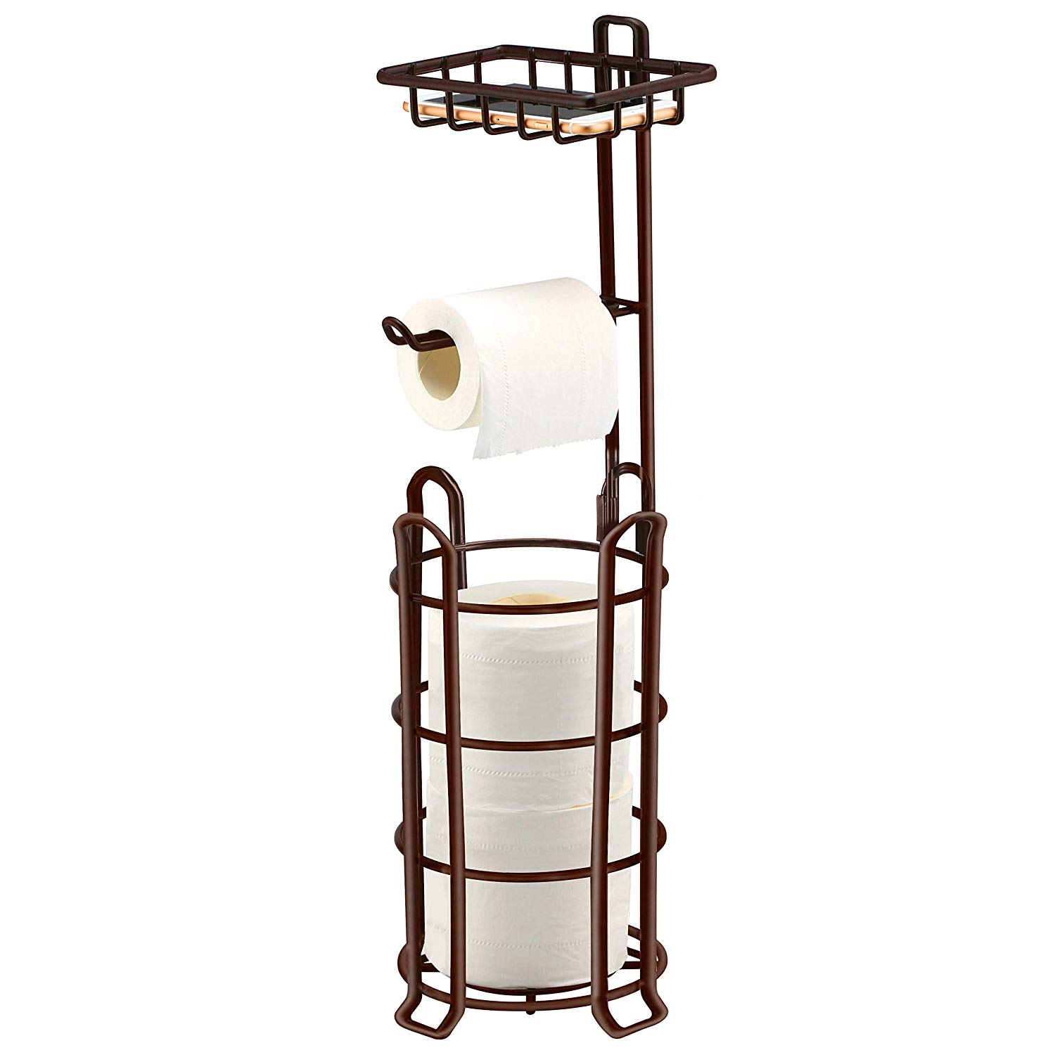 TomCare Toilet Paper Holder Bathroom Accessories Toilet Paper Stand