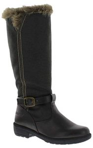 Totes Women's Esther Snow Boot Accessible in Medium and Wide Width