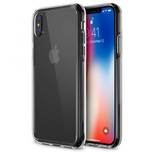 6. Trianium [Clarion Series] iPhone X Case, CS Clear