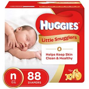 HUGGIES Little Snugglers Size Newborn Baby Diapers