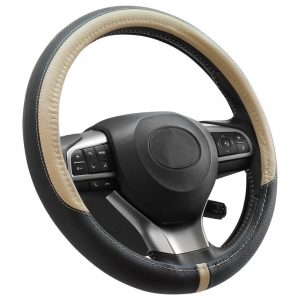 COFIT Breathable Leather Steering Wheel Cover