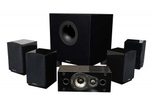 Energy 5.1 Channel Classic Home Theater System