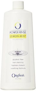 Oxyfresh Lemon Mint Mouthwash with Zinc – Alcohol Free Solution for Long-Lasting Fresh Breath and Dry Mouth Prevention