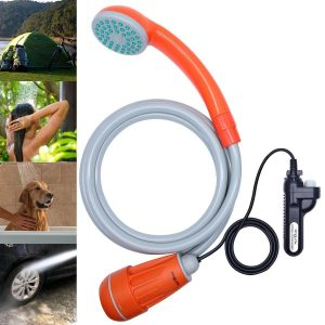 Anglink Upgraded Camping Shower, Battery powered Portable