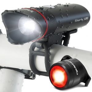 Cycle Torch Shark 500 Bike Light Set USB Rechargeable