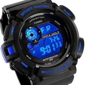 Fanmis Men's Military Multifunctional Digital Watch