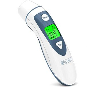 iProvèn Medical Temporal Forehead Digital Ear Thermometer