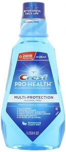 Crest Pro-Health Multi-Protection Refreshing Mouthwash, Clean Mint