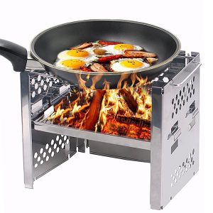 Unigear Wood Burning Stainless Steel Camp Stoves Backpacking Stove