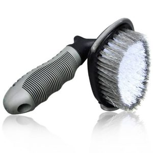 Car Wheel & Rim Brush/Curved Cleaning Brush for Tie Auto Motorcycle Bike Wheel Home Cleaning Tool
