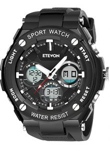 ETEVON Men's 'Captain' Outdoor Sport Watch
