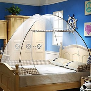 Premium Mosquito Net for King and California King Bed by Tedderfield; Conical Screen Netting; Spacious Canopy Extra Wide + Extra Long; Indoor Outdoor Use;...