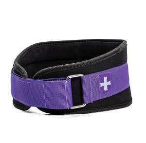 Harbinger Women's Nylon Weightlifting Belt with Flexible Ultralight Foam Core, 5-Inch
