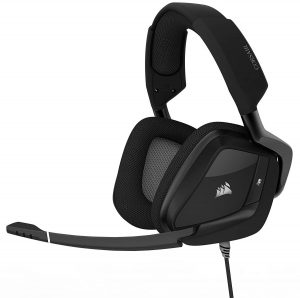 Corsair Void Pro RGB USB Gaming Headset for PC, Dolby 7.1 Surround Sound
