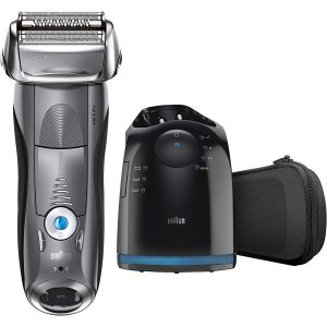 Braun Series 7 790cc Men Cordless Electric Foil Shaver with Clean & Charge Station