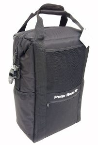 Polar Bear Coolers Nylon Series Backpack Black