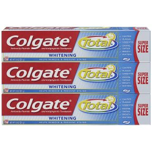 Colgate 7.8 ounce Total Whitening Toothpaste (3 Count)