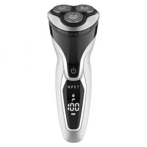 NPET ES8109 Electric Shaver Razors for Men USB Quick Rechargeable Electric Razor, IPX7