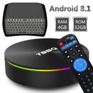 EVANPO Android 8.1 32GB ROM Smart TV Box