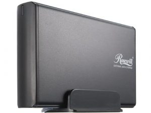 Rosewill RX35-AT-SU BLK Hard Drive Enclosure with Cable Attachment