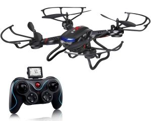 Holy Stone F181C RC Quadcopter Drone, HD Camera RTF 4 Channel 2.4GHz 6-Gyro