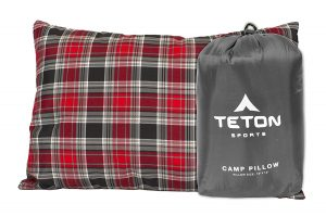 TETON Sports Perfect Camp Pillow, Free Stuff Sack Included